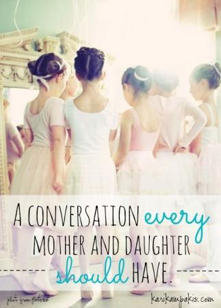 MotherDaughter conversation